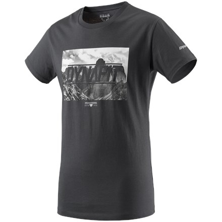 DIGITAL CO M S/S TEE - asphalt 1/0520 DOLOMITES